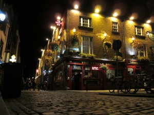 temple bar night