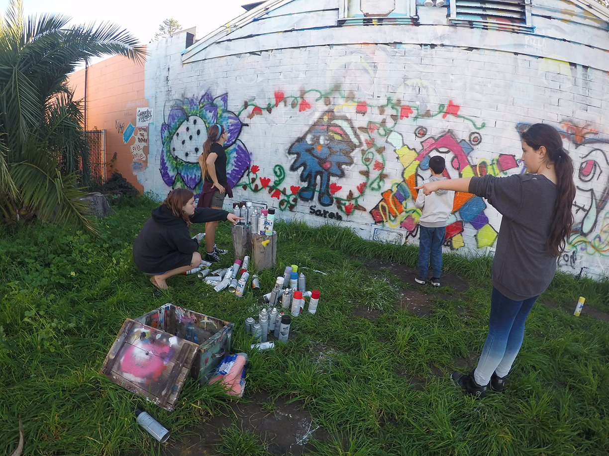 snyder street art workshop